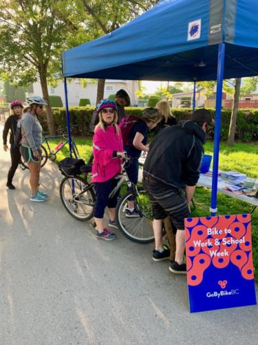 Tuesday Morning at Bike to Work Week